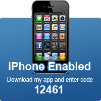 iPhone enabled: code 12461